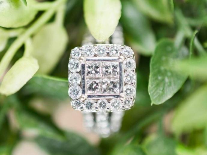 Learn about princess-cut diamonds