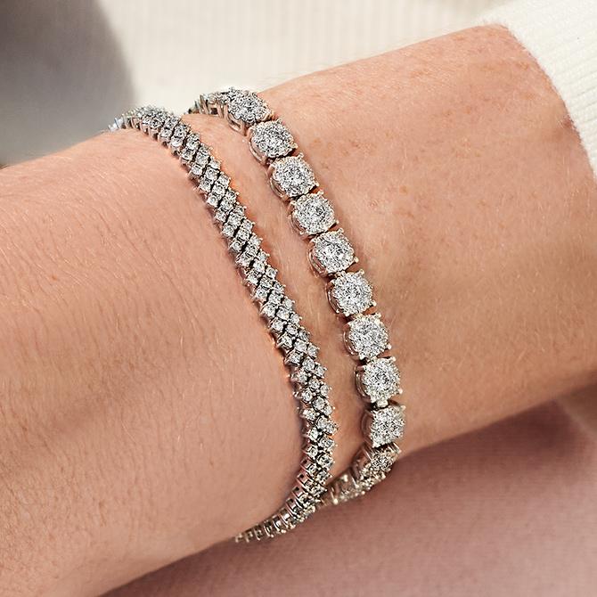 Blue Sapphire Bracelet-Tennis Bracelet-Personalized Gift-Bracelets for Women-Gemstone Bracelet-925 Sterling Silver Bracelet-Gift for Her