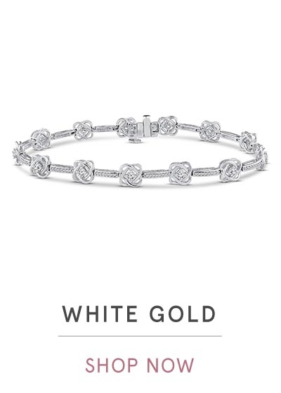 WHITE GOLD BRACELETS | SHOP NOW