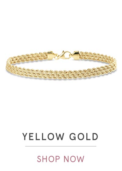 YELLOW GOLD BRACELETS | SHOP NOW