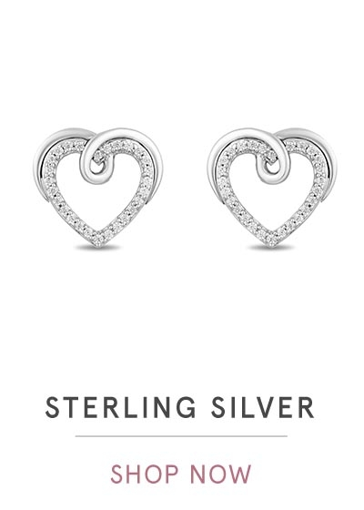 STERLING SILVER EARRINGS | SHOP NOW