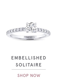 EMBELLISHED SOLITAIRE | SHOP NOW