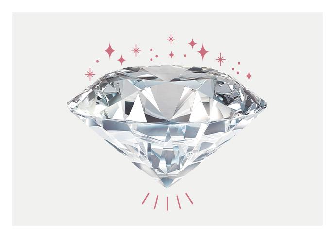 A flawless KAY diamond