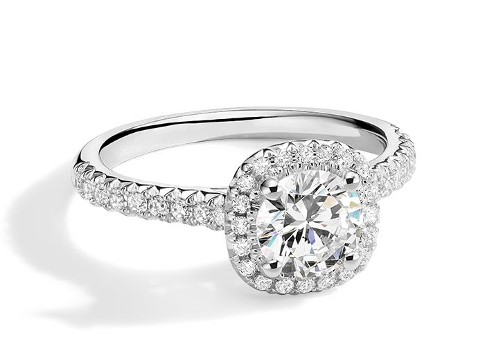 Modern Creation lab created diamond ring from KAY Jewelers