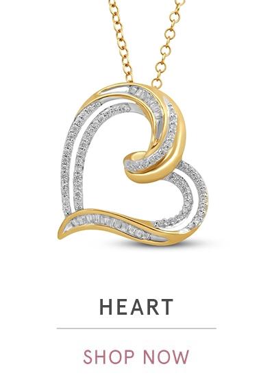 HEART NECKLACES | SHOP NOW