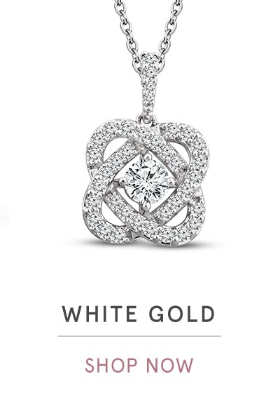 WHITE GOLD NECKLACES | SHOP NOW