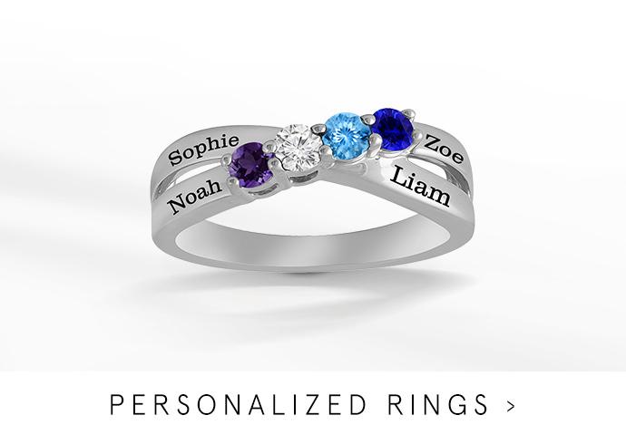 Family Jewelry: Rings, Earrings