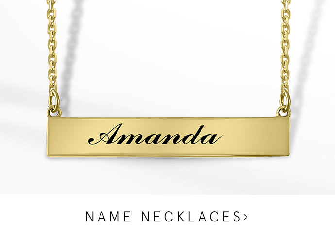 Personalized Necklaces Kay