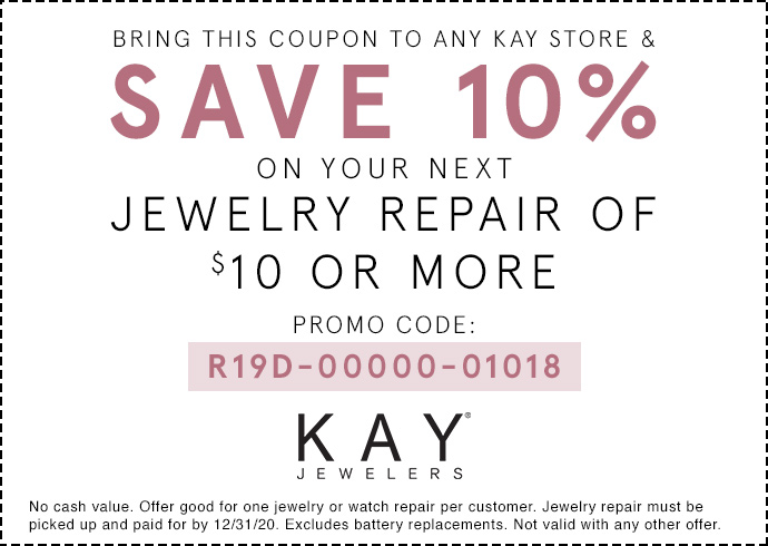 Jewelry Repair Services Kay