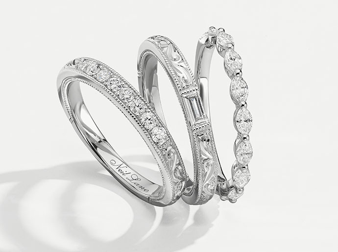 Learn about how to stack fashion rings