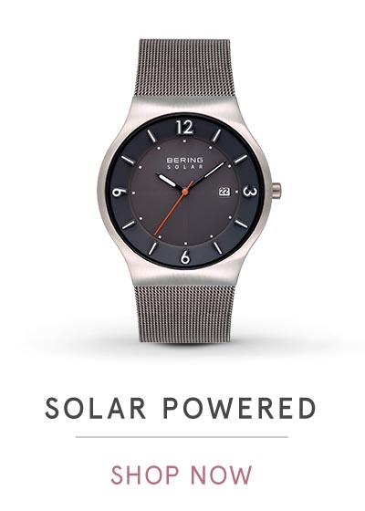 SOLAR POWERED | SHOP NOW