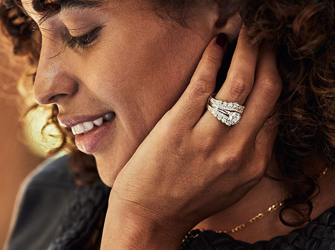 Explore engagement ring enhancers and wraps from KAY.